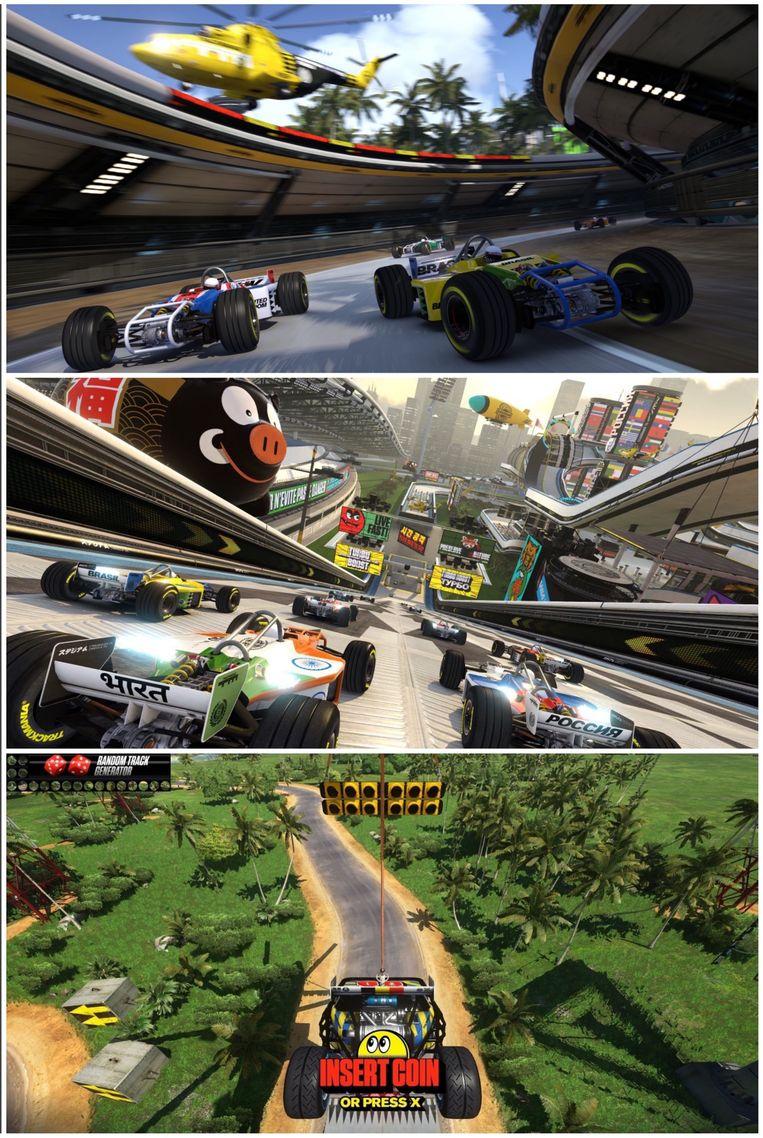 Manisch gerace in Trackmania Turbo Beeld Nadeo