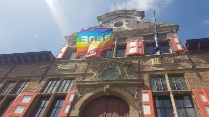 """Kaprijke laat regenboogvlag wapperen: """"Geen enkele bevolkingsgroep mag gediscrimineerd worden"""""""
