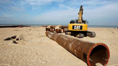 Vanaf dit weekend zandopspuiting op strand na schade door stormen