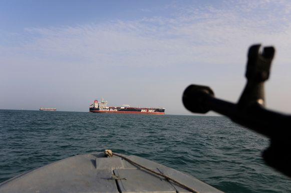 De Stena Impero werd vrijdag in beslag genomen door de Iraanse Revolutionaire Garde.