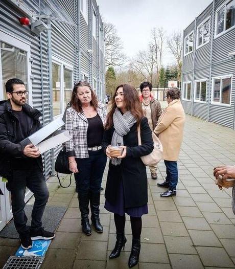 Warm welkom vluchtelingen