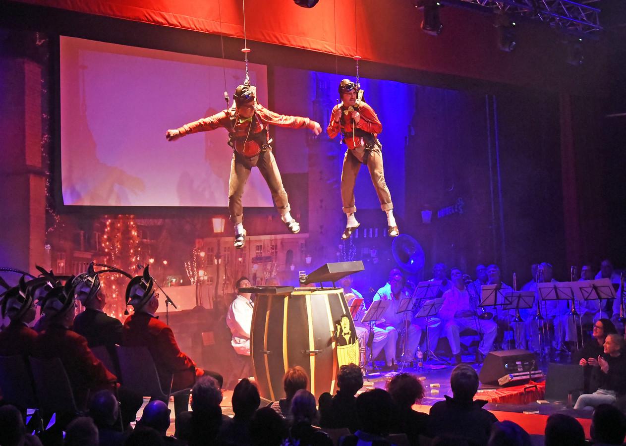 Fiel en Prosper kwamen letterlijk binnenvallen en bleven 'even hangen'.
