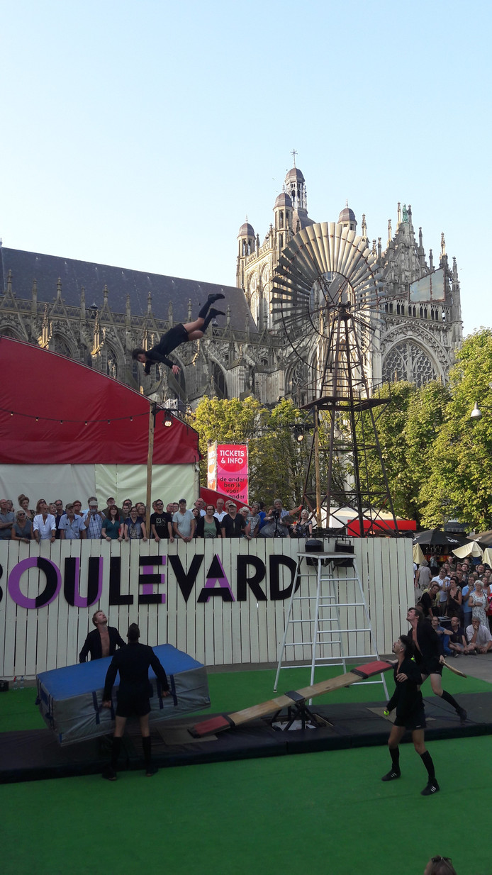 Opening van Theaterfestival Boulevard