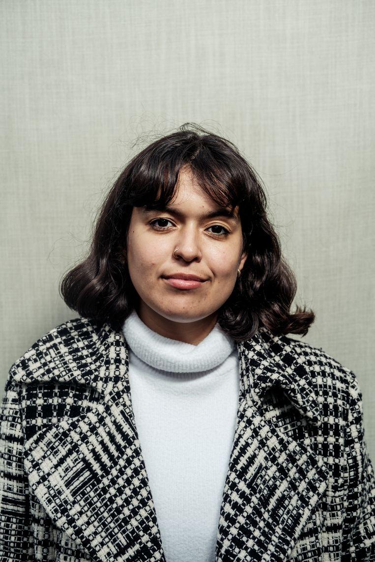 Mayra van der Drift (20) studeert journalistiek aan de Hogeschool in Utrecht. Beeld Jakob Van Vliet