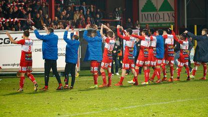 VIDEO: Kortrijk wint met tien man, Legear mist cruciale strafschop