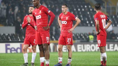 Standard doet slechte zaak in Europa League: Rouches spelen gelijk tegen Guimarães, Frankfurt wint tegen Arsenal