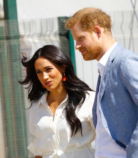Ce geste plein de douceur du prince Harry à l'égard de Meghan Markle devient viral
