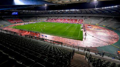 Toch geen 11.000 fans voor Rode Duivels: Europa verbiedt publiek bij België - Ivoorkust