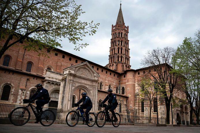 Patrouille de police à Toulouse