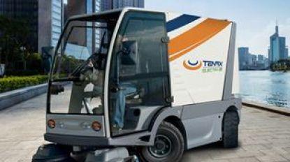 Eerste elektrische veegwagen in Vlaanderen