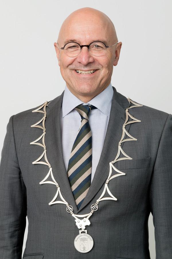 Nederland,  Veghel, burgemeester van Meierijstad Kees van Rooij