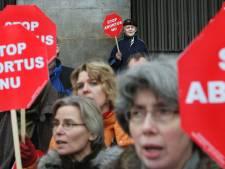 Nauwelijks tegendemonstranten in Utrecht rond anti-abortus mars