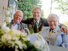 Gerrit en Bertha Grootenhuis uit Buurse 60 jaar getrouwd