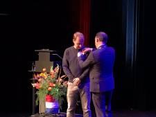 Ridder Edwin Evers trots op onderscheiding