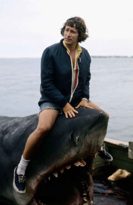 'Spielberg kon geweldig vertellen. Hem over Jaws horen vond ik leuker dan de film zelf.' Beeld Getty
