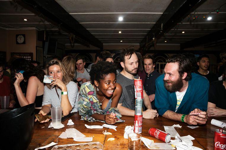 Een bar in Johannesburg 2018.  Beeld Ilvy Njiokiktjien