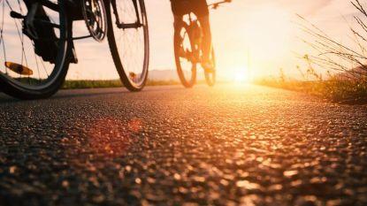 Verkeersmaatregelen voor wielerwedstrijd