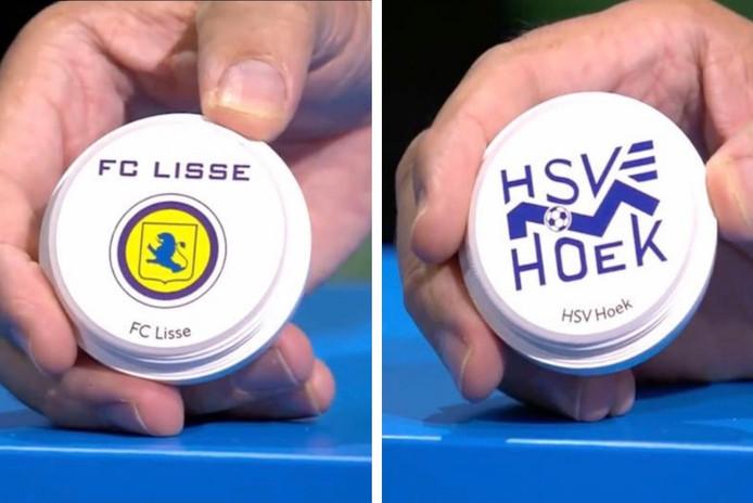 FC Lisse en Hoek nemen het woensdagavond tegen elkaar op in het toernooi om de KNVB beker.