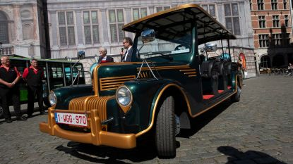 VIDEO. Antwerpse toeristentrams rijden nu ook elektrisch