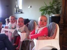 Boekelse eeneiige drieling viert eerste verjaardag
