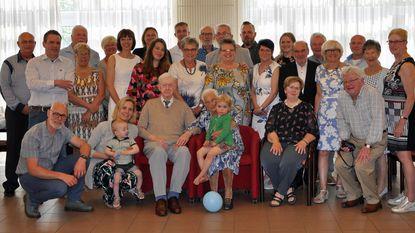 Emiel en Clara vieren 70 jaar geluk