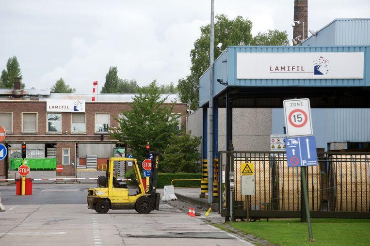 Het Hemiksemse bedrijf Lamifil.