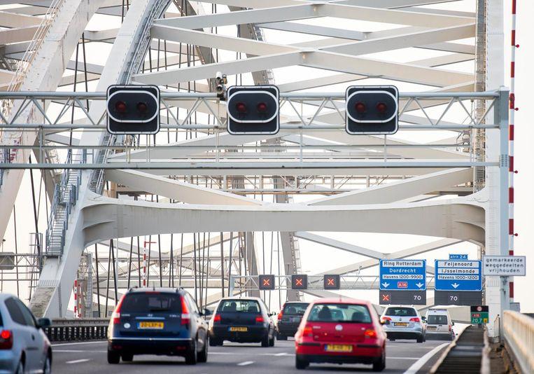 De controle over bruggen en stoplichten Beeld anp