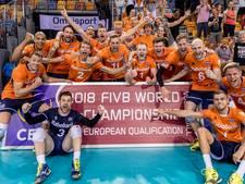 Bekijk hier hoe de volleyballers zich voor het eerst sinds 2002 plaatsen voor het WK