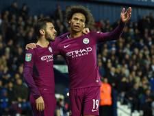 Sané schiet Manchester City naar volgende ronde League Cup