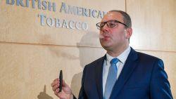 """Vlaming aan de top bij British American Tobacco: """"Of mijn kinderen mogen roken? Niet voor hun 18 jaar"""""""