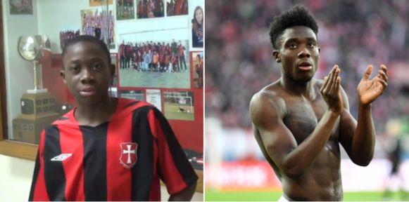Davies vroeger en nu.