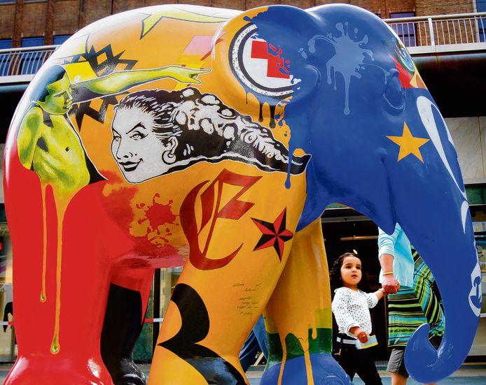 Beeld van de Elephant Parade