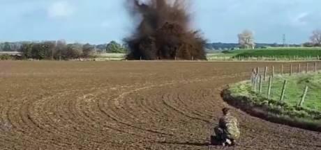 EOD drie dagen zoet met opblazen van tweeduizend oude granaten in Keent