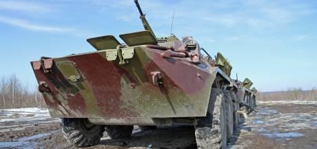 Russisch pantservoertuig valt in 40 meter diepe kloof: 3 soldaten dood