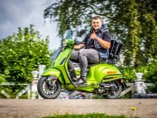 Dordtenaar wil in tweeënhalve dag op zijn scooter naar Costa Brava in Spanje rijden