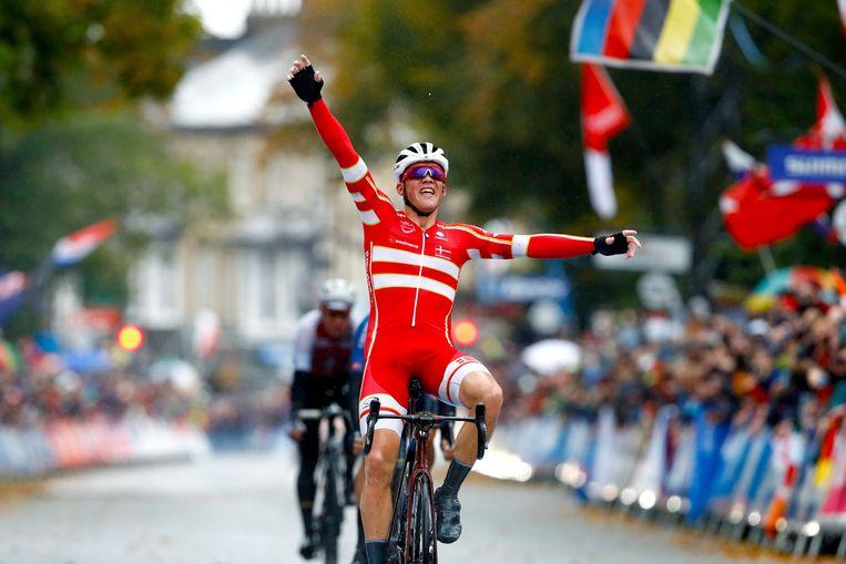 Mads Pedersen kroonde zich vorig jaar tot wereldkampioen.