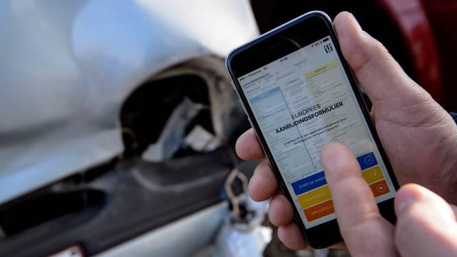 App om ongevallen aan te geven kan nu door alle betrokken partijen gebruikt worden