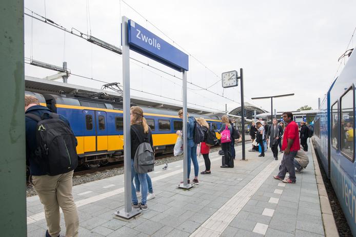 Station Zwolle. Archieffoto