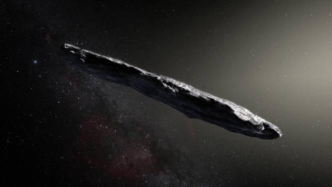 Ruimteschip of niet? Reusachtige telescoop onderzoekt tien uur lang sigaarvormig gevaarte