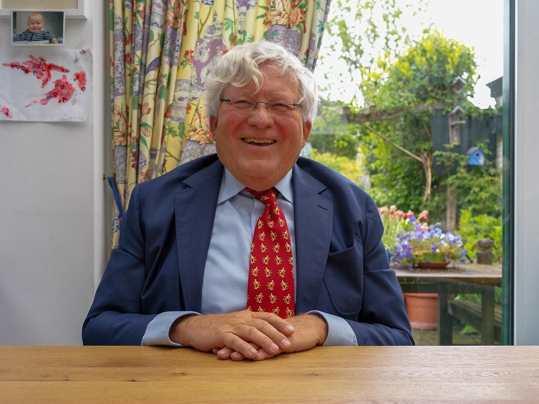 Ok de Lange, kleinzoon van Ok van der Plas.