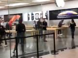 Dieven roven Apple Store leeg tijdens openingstijd