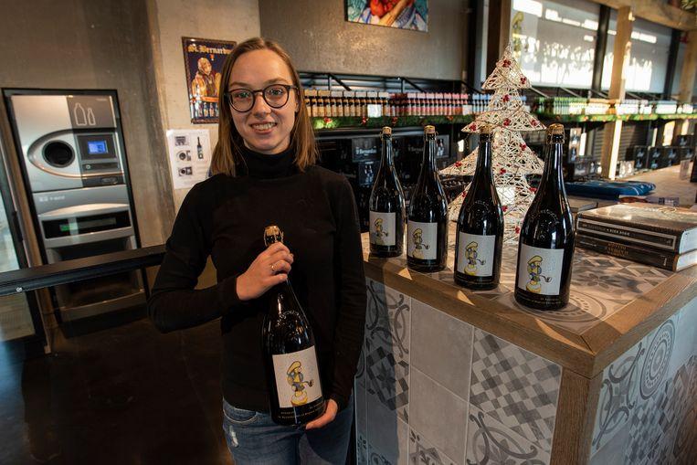 Kelly Devos van brouwerij St. Bernardus met de Abt 12 Magnum 2018