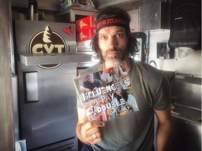 Joe Nicchi, ijsjesverkoper in LA.