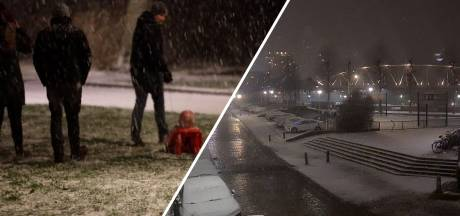 Video van de Dag   Zo beleeft Oost-Nederland pret in de eerste sneeuw