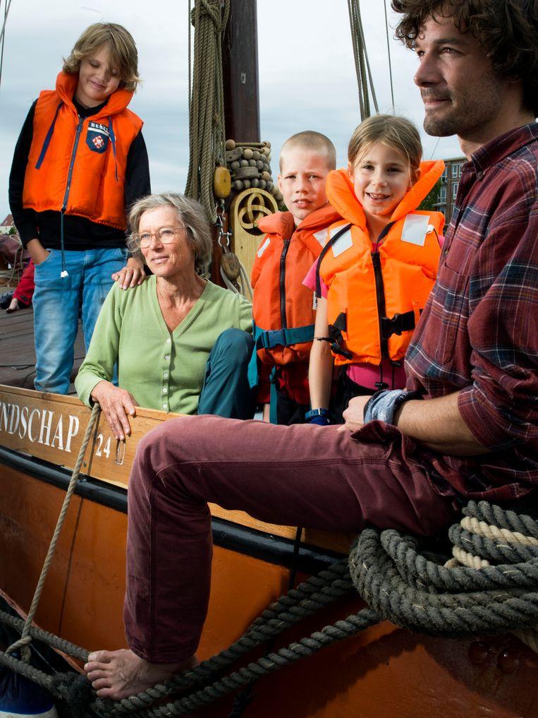 Coby Jeninga: 'We hoopten heel erg dat het schip tot vriendschappen zou leiden.'  Beeld Eva Roefs
