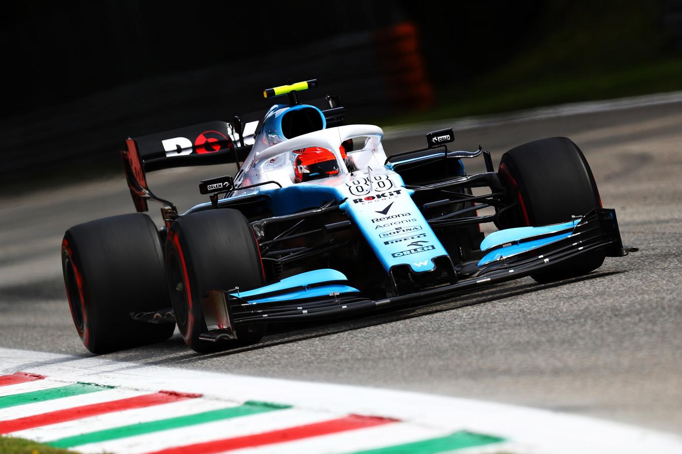 Robert Kubica tijdens de GP van Italië.