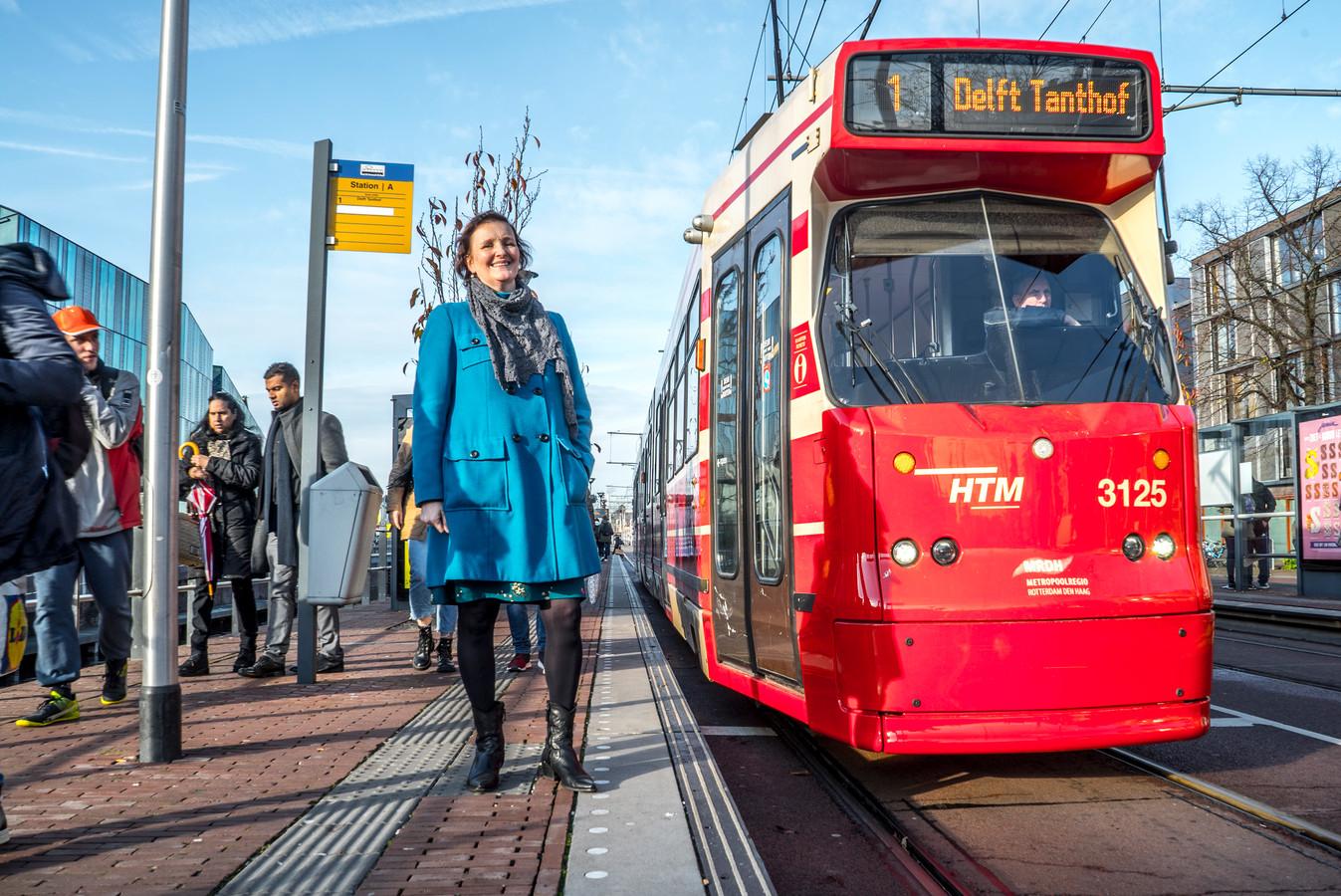 Martina Huijsmans over vervoer in Delft