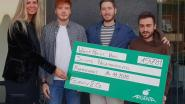 Cheque voor scouts Nederokkerzeel
