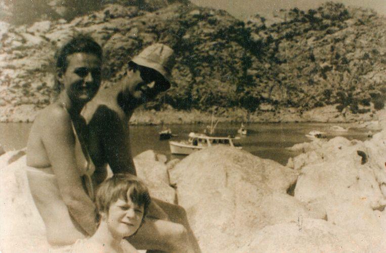Albert en Sybille op vakantie. Delphine Boël probeert al sinds 2013 te bewijzen dat Albert haar vader is.
