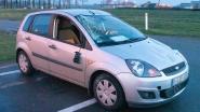 Wagen slipt én gaat over de kop op E34 in Moerbeke: bestuurder lichtgewond